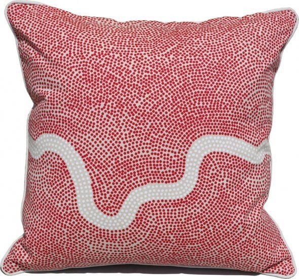River Red Cushion Covers