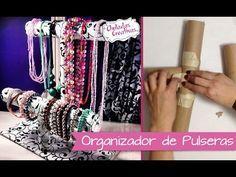 Chuladas Creativas :: Porta Pulseras Relojes y Collares :: Manualidades - YouTube