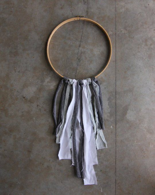 DIY Room Decor: How To Make An Embroidery Hoop Wall Accent — Apartment Therapy Reader Project Tutorial
