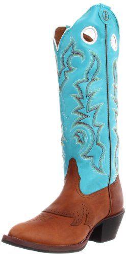 Tony Lama Boots Women's Beige Buckaroo RR2002L Boot | Ladies Cowboy Boot Roundup