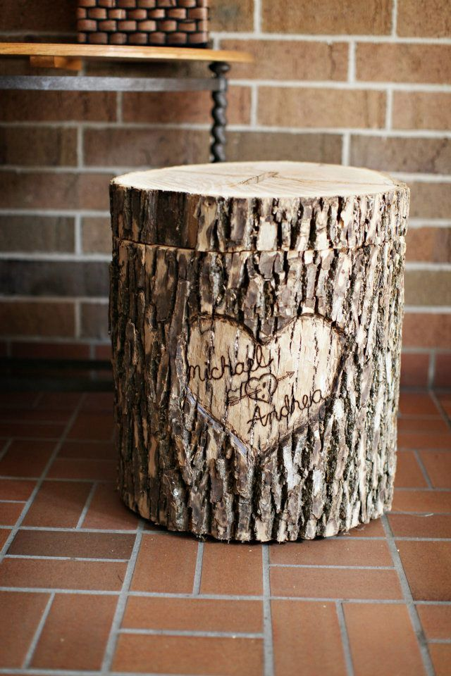 DIY - Wedding card box | Since then, our cardbox has made it's way to Pinterest & I've gotten ...