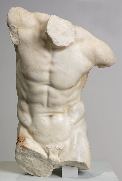 """forthememoryofepicurus:  Dancing Satyr Torso Fragment 26 x 153/8 in. (66.04 x 39.05cm) 1st. Century AD, From the """"Invitation To The Dance"""" (pic17) Minneapolis Institute of Art"""