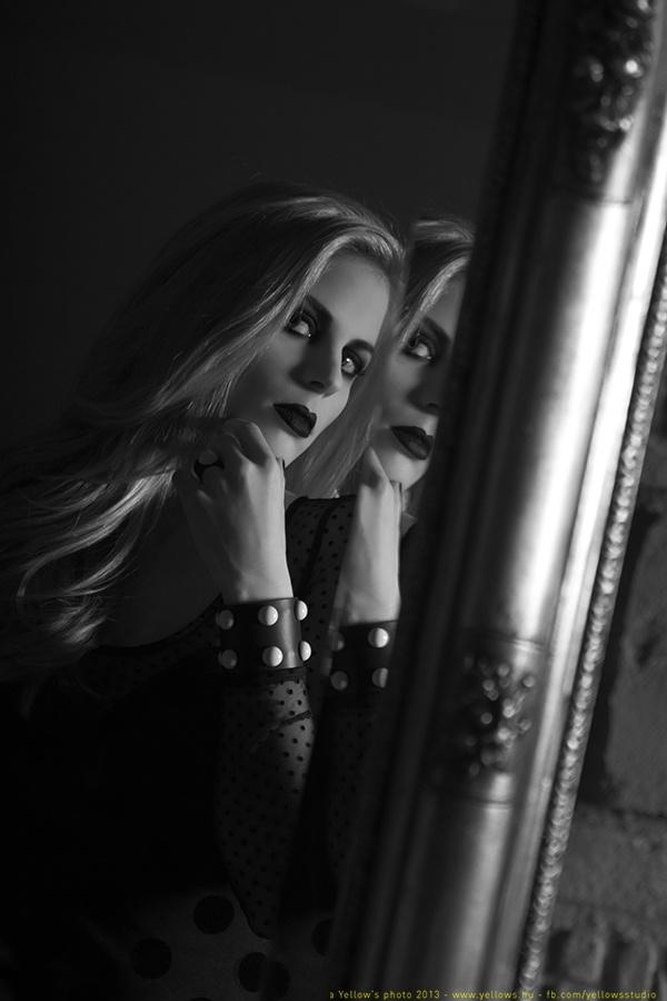 a photo from Blond'n'Dark, Mirror series  https://www.facebook.com/yellows.studio