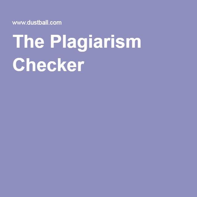 Plagiarism detection canada