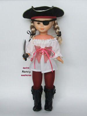 Al abordaje!! Nancy pirata Nancy entre costuras