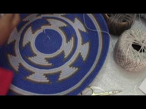 Wayuu Çanta Yapımı #2 - İp Değiştirme - YouTube