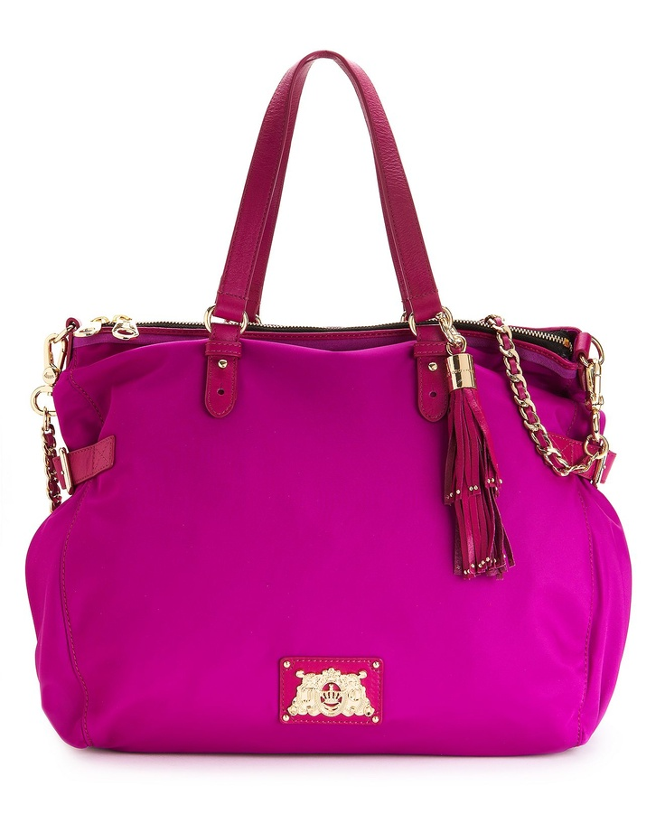 Top Trends from #NYFW: Bold Hues JUICY COUTURE #handbag #bright BUY NOW!