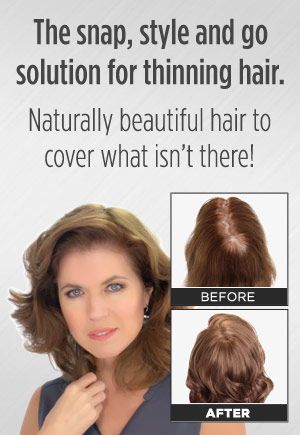 Secret Cover™ - Naturally Beautiful Hair Clip Extensions Cover Thin Hair