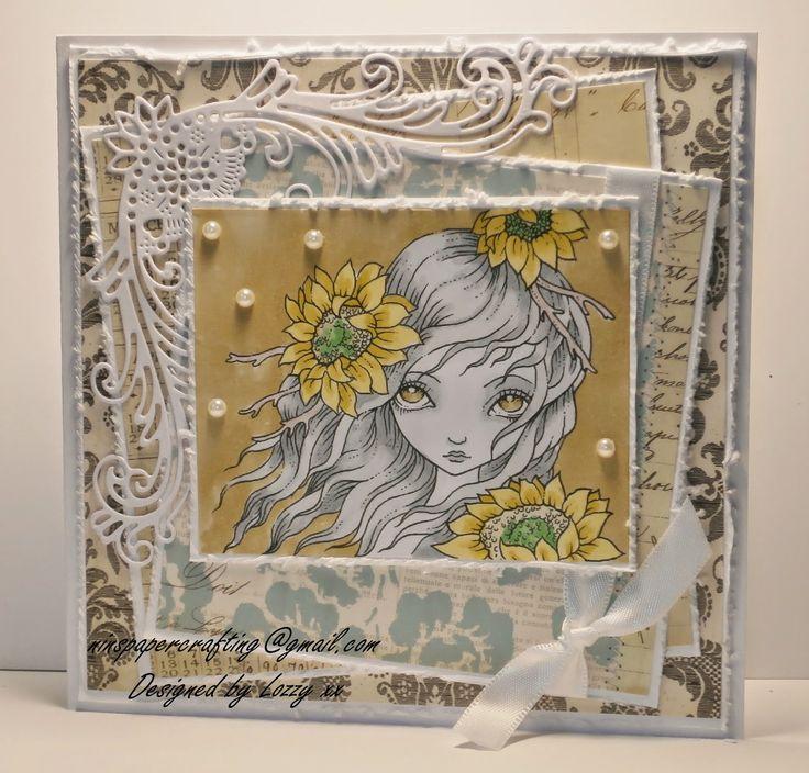 Nins Handmade Cards: November 2014, Keep in Faith