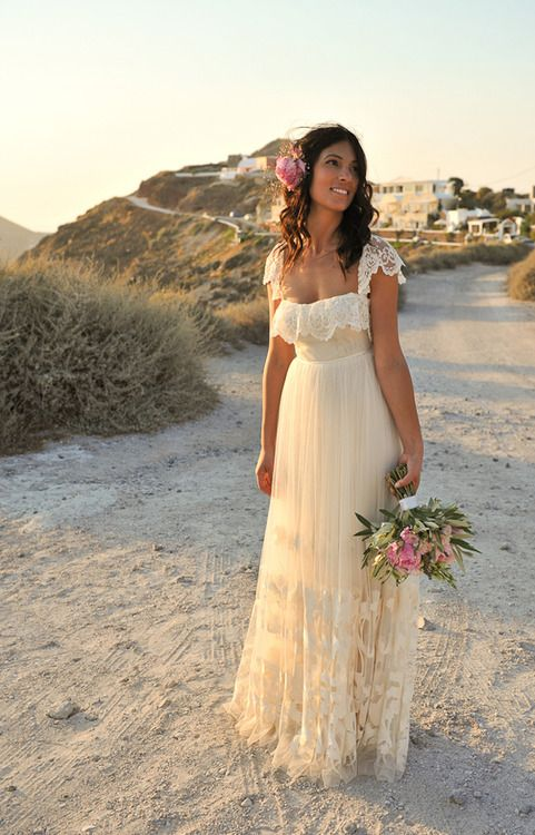 Beach Wedding Dress Gown Cute Seaside Things I Love Pinterest And Gowns