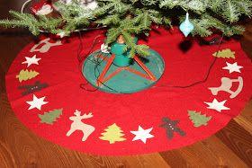 Lollies: Weihnachtsbaumdecke aus Walk - Anleitung zum Nachmachen