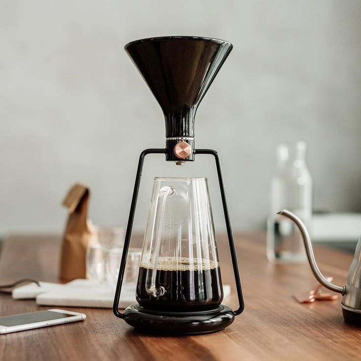 I am so intrigued by this new coffee maker called GINA from @goat_story. Looking forward to seeing more details and their @kickstarter which starts Oct 18th. #coffee #brew #design