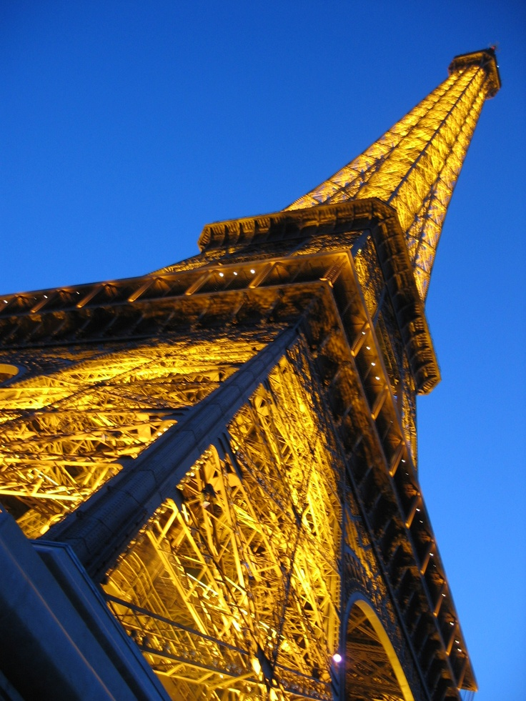Eiffel Tower.  Photo by me.