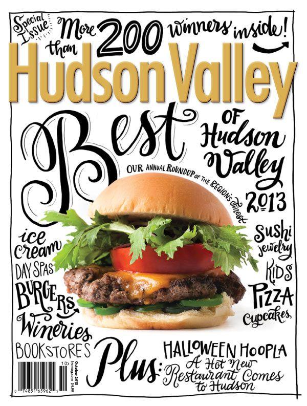 hudson valley magazine, burger, cover, hamburger, photography, © Jennifer May, www.jennifermay.com