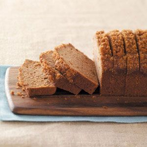 Applesauce Cinnamon Bread ... substitute non-dairy milk for the cow's milk