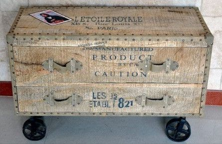Letoile Royale Chest on Cast Iron Wheels - Complete Pad ®