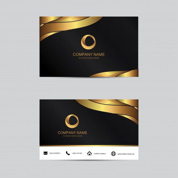 Geometric Background Business Card Template Flat Design Business Card Design Creative Free Printable Business Cards Business Card Template