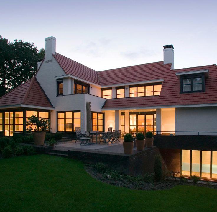 bij deze prachtige nieuwbouw villa in blaricum hebben we gekozen