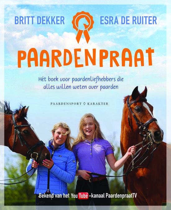 Britt Dekker en Esra De Ruiter zijn populaire paardenvloggers. Hun YouTube-kanaal PaardenpraatTV heeft maar liefst 50.000 volgers en telt zo'n twee miljoen views per maand. Wie zijn toch die twee vrolijke paardenmeisjes die elke maandag en woensdag een nieuw vlog online zetten? https://www.hebban.nl/recensies/edith-over-paardenpraat