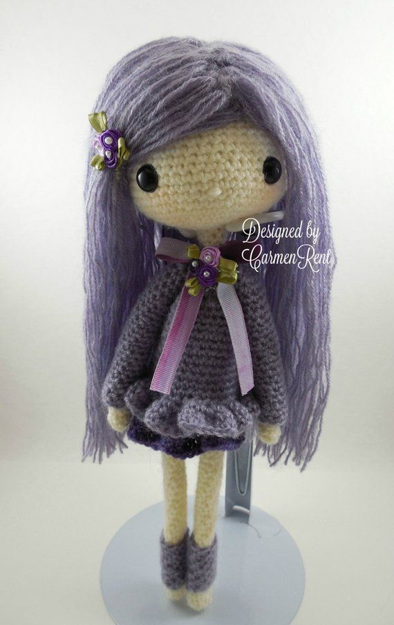 Amigurumi Lilly Doll with Bunny Hat Free Crochet Pattern in 2020 ... | 904x570