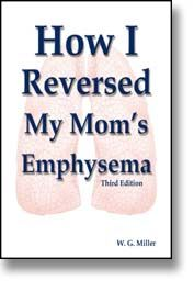 """How I Reversed My Mom's Emphysema""      http://www.emphysema-treatments.com       Details my mother's struggles and eventual recovery from emphysema and COPD.     ""Approaching the treatment of emphysema as if it is a pathogen introduced into the lungs by smoking resulted in improvements in only two weeks and a complete recovery in 17 months!""     Read the amazing story combining logic with determination! #copd, #emphysema"