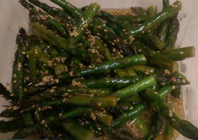 Pan Roasted Asparagus Recipe -  Let's cook Pan Roasted Asparagus by yourself!