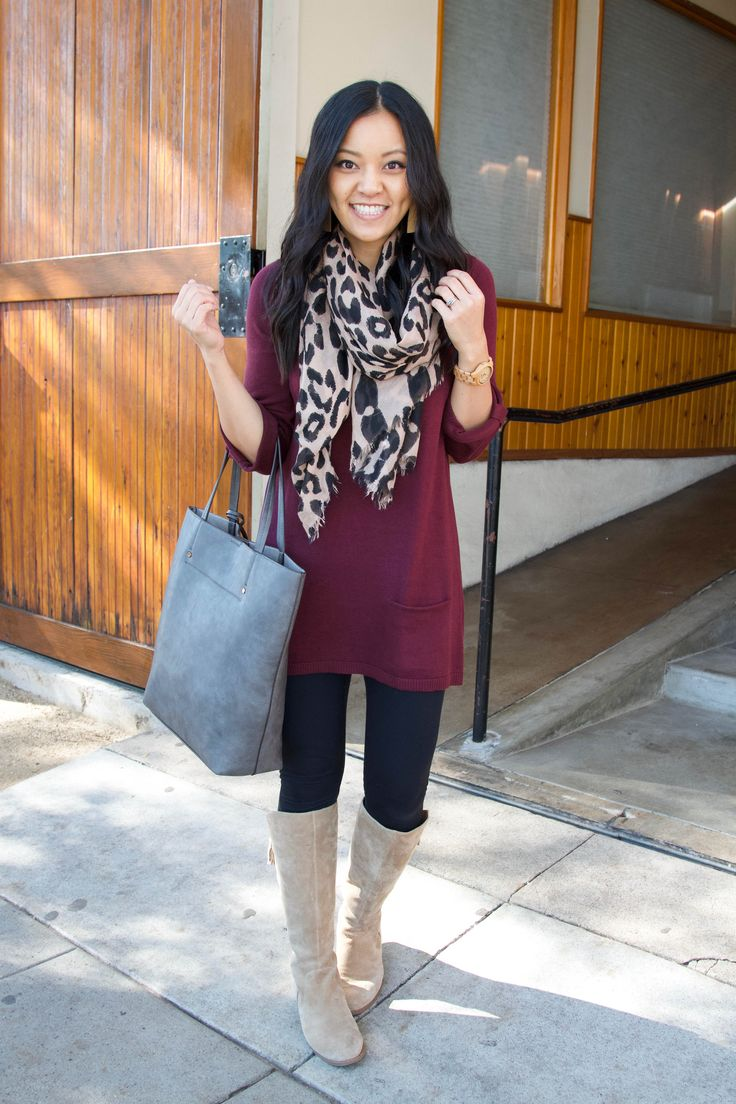 Four Comfy Winter Outfits With Leggings + Nordstrom's Half Yearly Sale