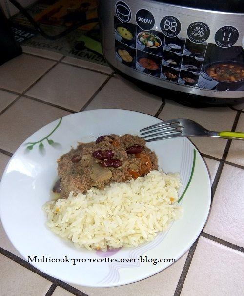 Chili con carne (rapide)