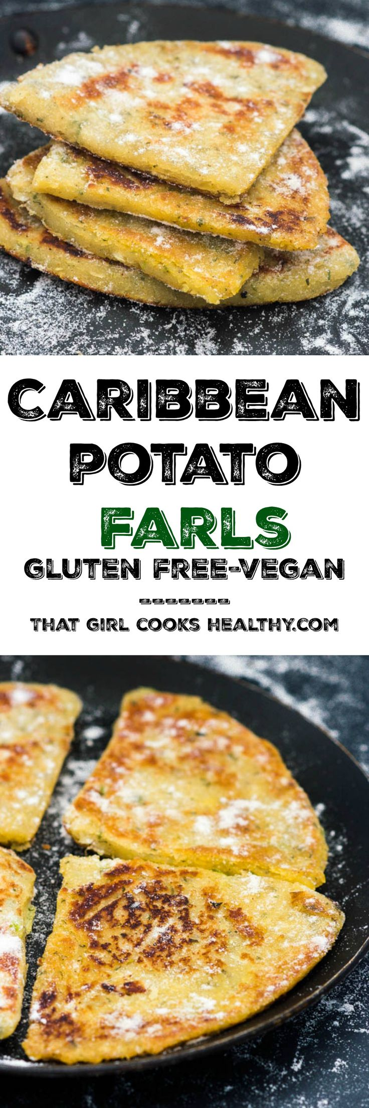 Potato farls recipe - where the Caribbean meets Ireland (vegan/gluten free)