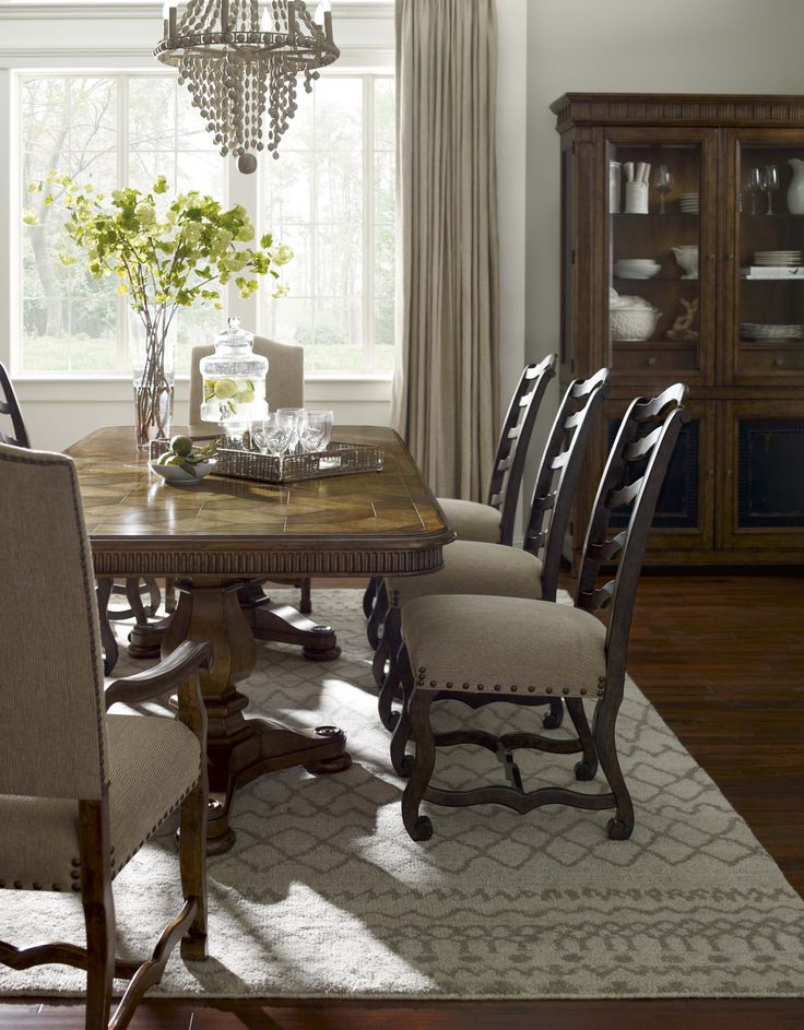 COLLECTION ONE Harvest Dining Table And Side Chairs By ART Furniture
