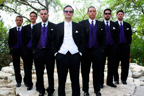Wedding Gift From Groomsmen Etiquette : Purple Groomsmen Groomsmen Pinterest Groomsmen, Purple groomsmen ...