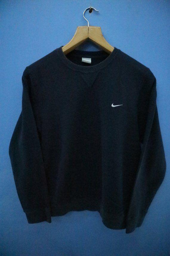 Vintage Nike Sweatshirt Minimalist Logo Sport Sweatshirt Etsy Vintage Nike Sweatshirt Sports Sweatshirts Nike Sweatshirts