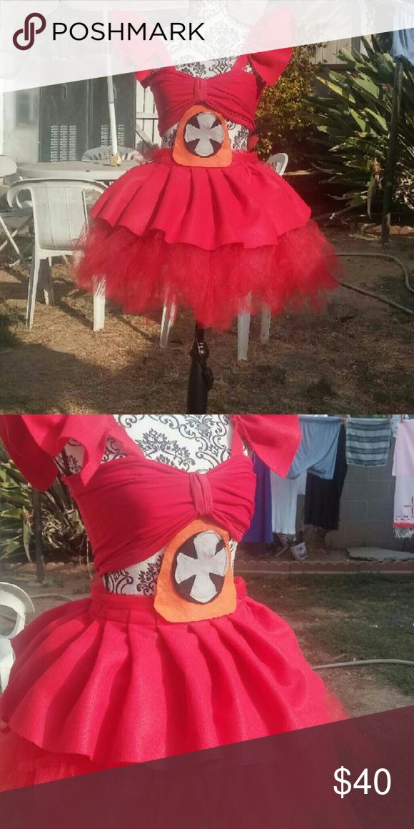 Fnaf circus baby sister location costume This cute costume is hand made comes with dress and emblem for littilr girls. Handmade Costumes Halloween