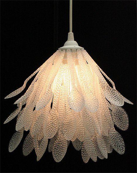 lamparas hechas con material reciclable luz maria manualidades luz