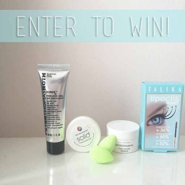 ENTER TO WIN a sample pack of skin care products from Peter Thomas Roth, BeautyBlender, Talika, and Gloss Moderne! #elementsbeautyblogger