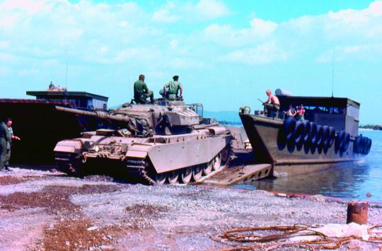 The Vietnam War Era US Army 231st Transportation Company at work