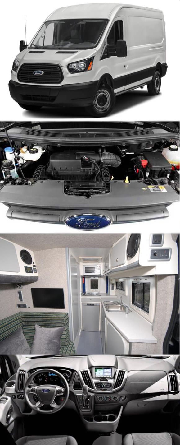 Now pack a full kitchen in ford transit custom van get more details at http