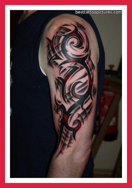 Upper Arm Tattoo Ideas For Men Upper Shoulder ...