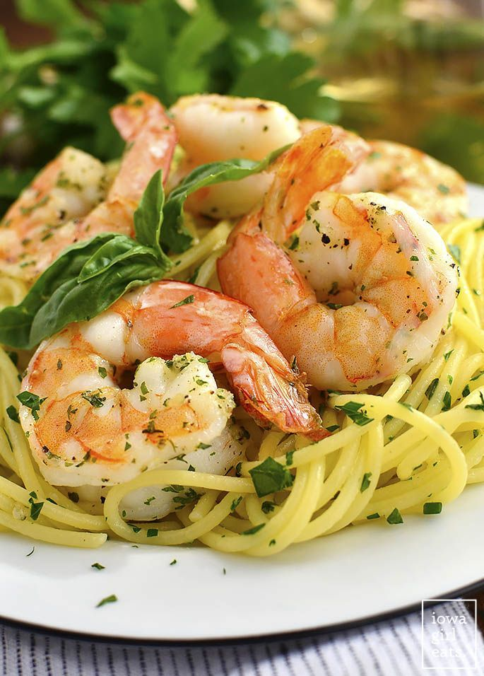 894 best quick easy recipes images on pinterest cooking food garlic herb butter pasta with easy roasted shrimp supper recipessimple dinner forumfinder Images