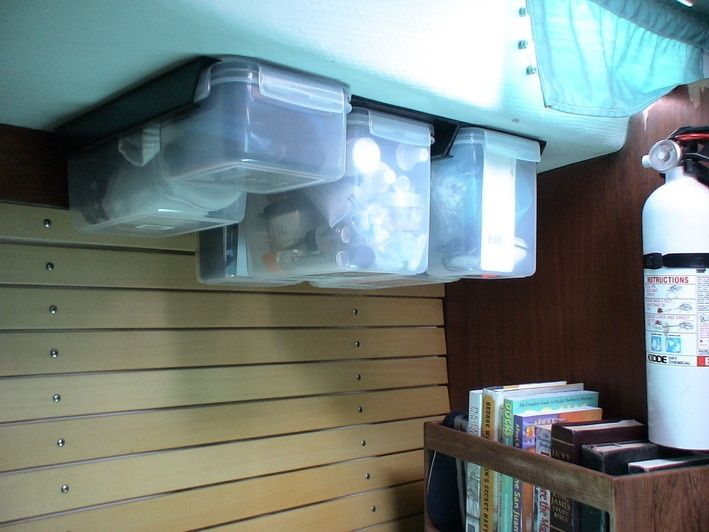 storage on a boat