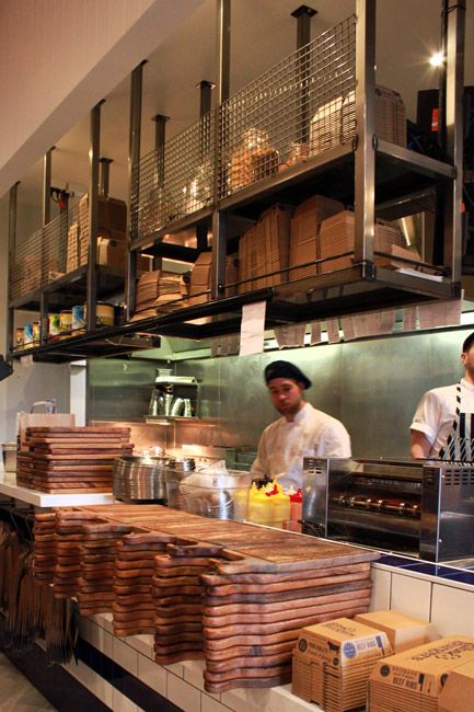Ribs Burgers Perth Constructed By SD C 2015 Kitchen Industrial Storage