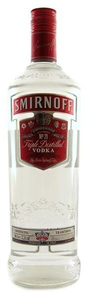 Smirnoff Vodka Red Label / 37,5% vol (1L)