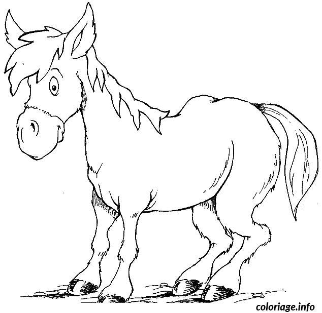 les 25 meilleures idées de la catégorie coloriage cheval à
