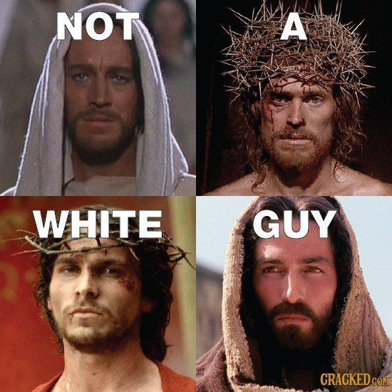 Jesus Christ was born in Bethlehem, in the Middle East. Why, then, is He always depicted with light brown hair? Is He Anglicized?
