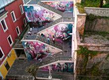 Wonderful wall painting - Street Art