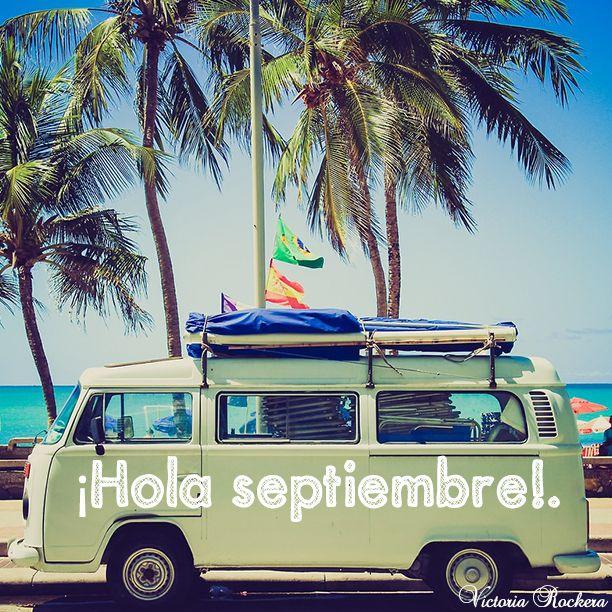 ¡Hola septiembre!   www.victoriarockera.com