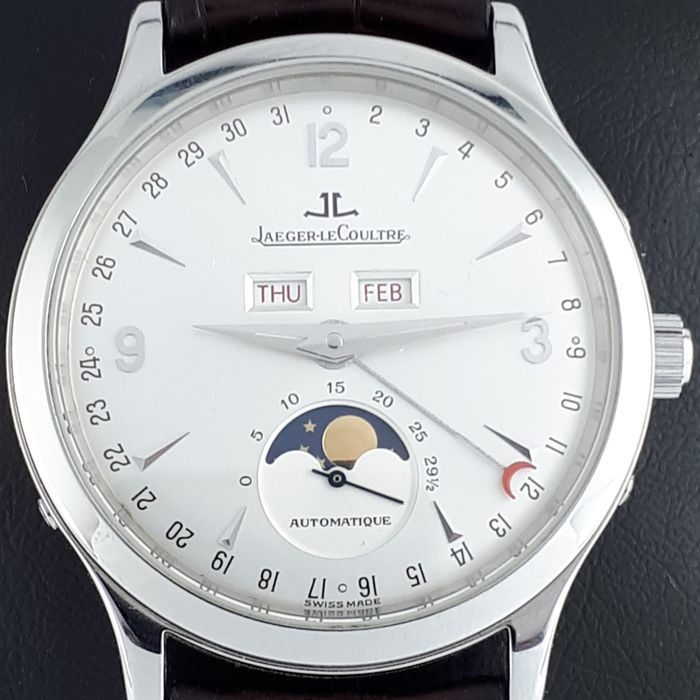 Jaeger Lecoultre Master Calendar Moonphase Ref 140 8 98 S