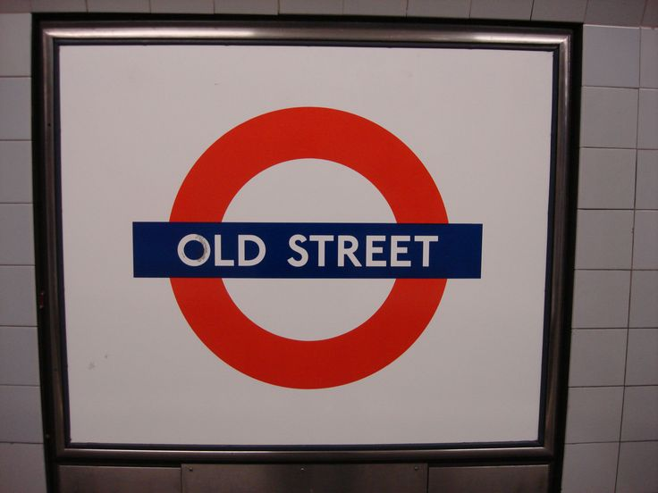 Image result for old street tube sign