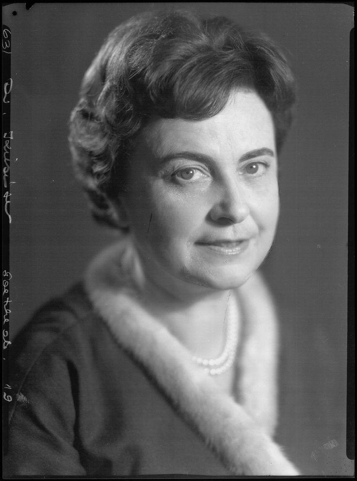 Marie-Luise Kiesinger épouse  de Kurt Georg Kiesinger