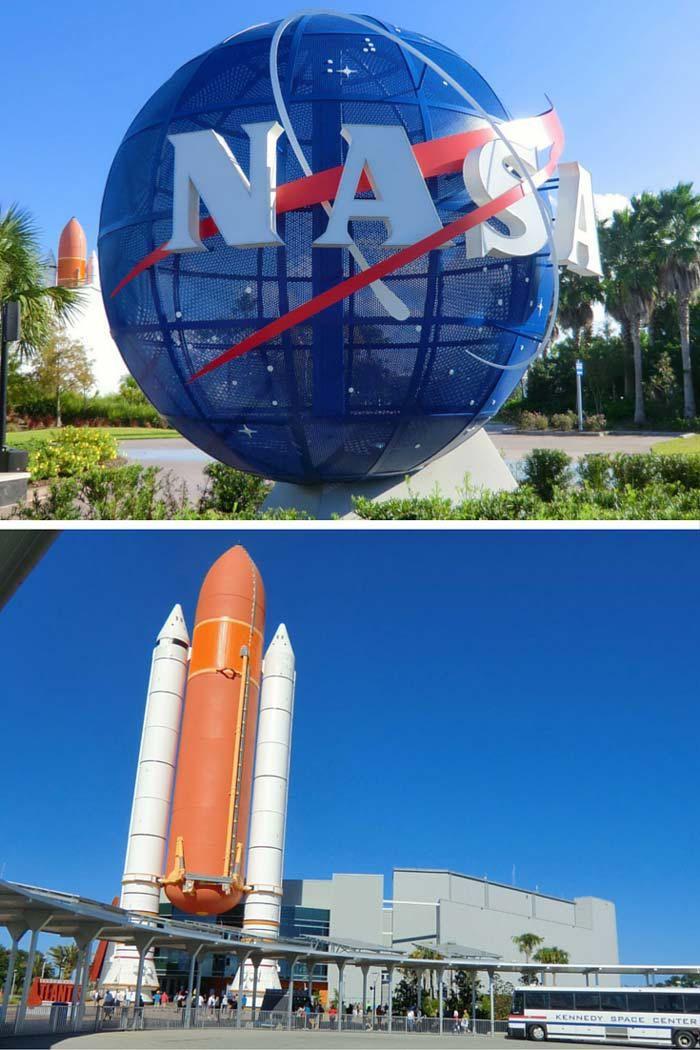 Kennedy Space Center in Orlando, Florida!